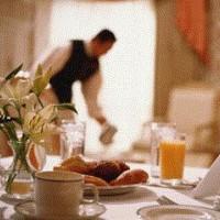 Об этикете в ресторанной подачи чая?