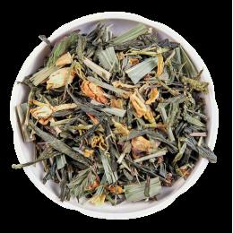 Травяной сбор с зелёным чаем