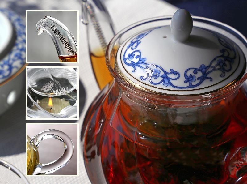 Чайник Asia с подставкой
