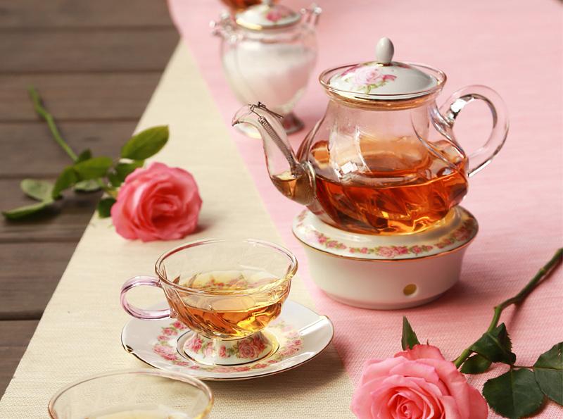 Подставка-подогреватель для чайника Rose